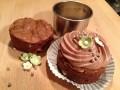 Dekorerede brownies